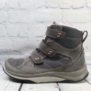LL BEAN WP Insulated Mid Snow Sneaker Boots Size 8